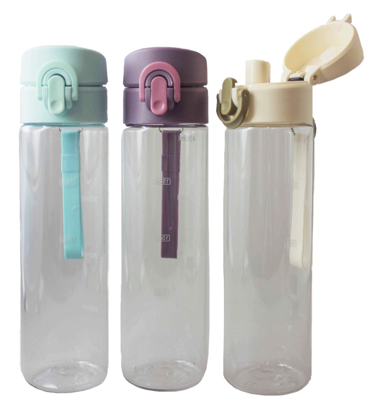 Tritan Bottle with Silicone Strap [400ml]
