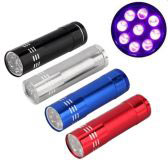 UV LED Torch Light 2 [9LED]
