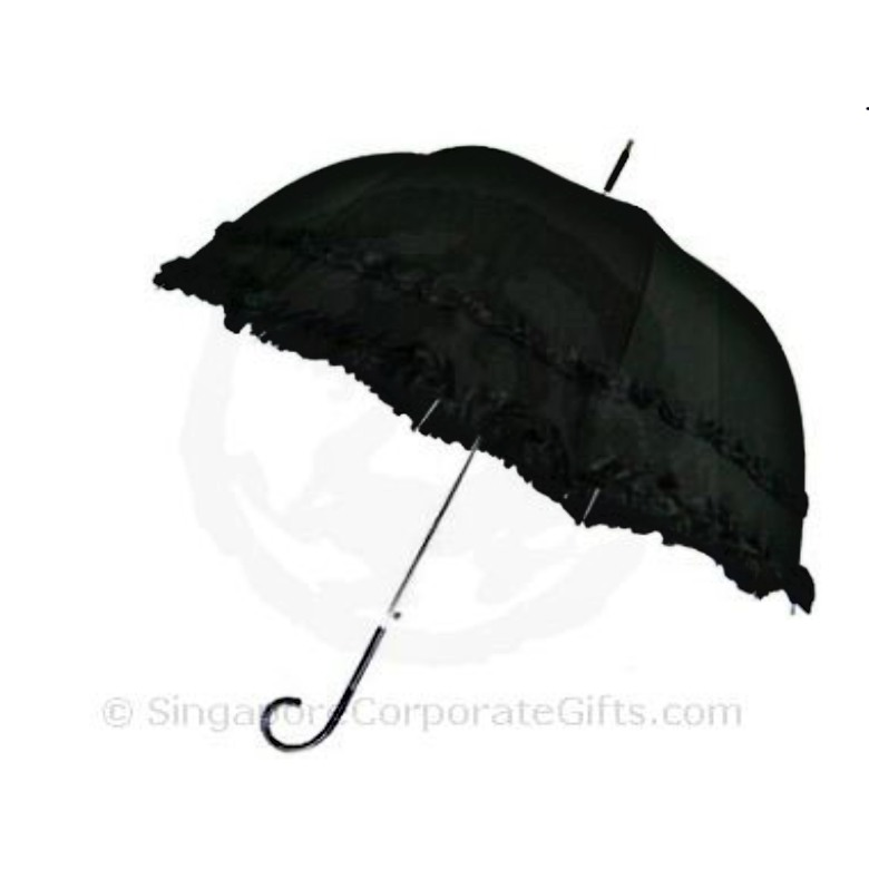 "Customised Umbrella - Dome shape with Ruffles (27"")"