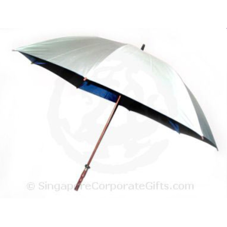 "Golf Umbrella with windproof, Wood handle (30"")"