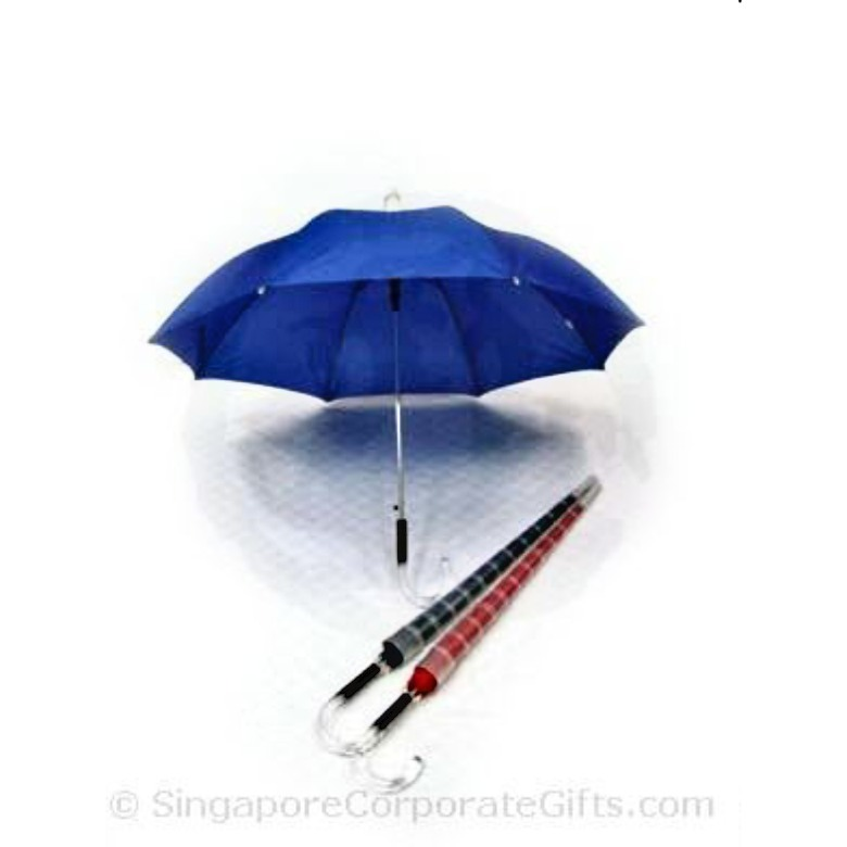 "Umbrella with anti-drip cap, Crystal handle (24"")"