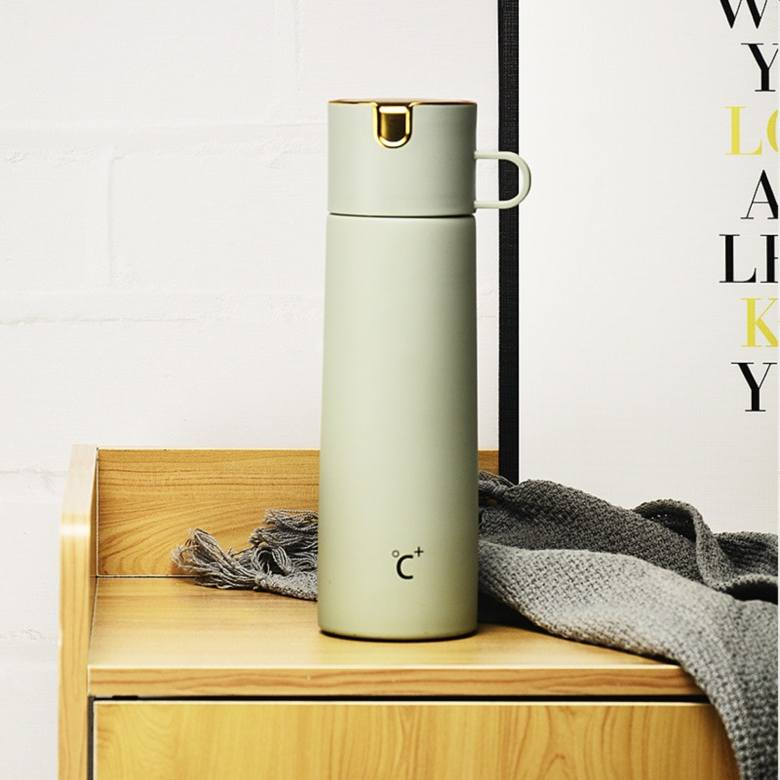 Exclusive Vacuum Flask with Cup [480ml]