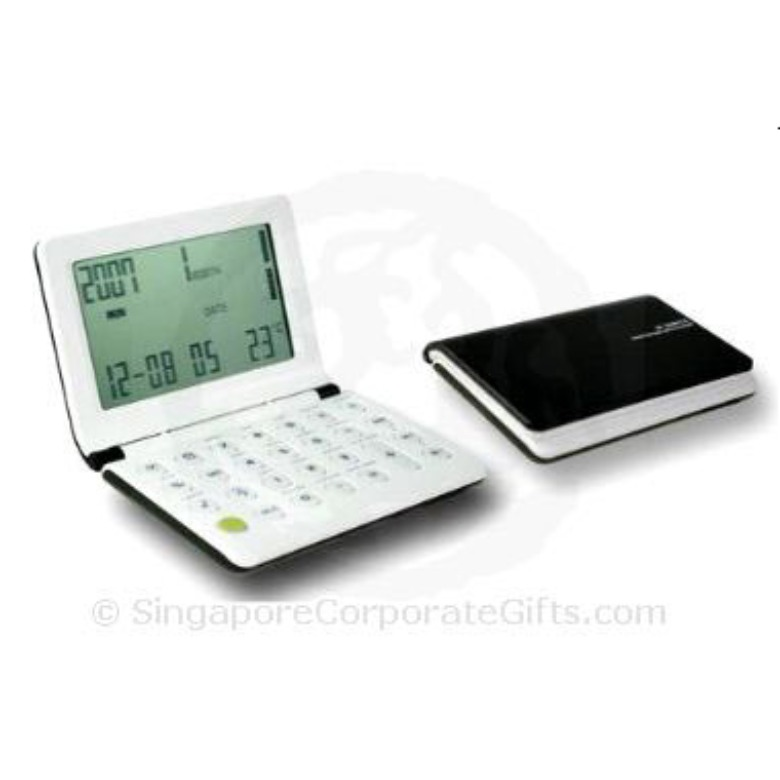 Calculator with Calendar, World time and Thermometer