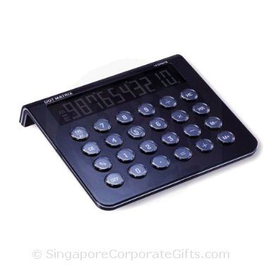 Dot Matrix Display Calculator (Black)