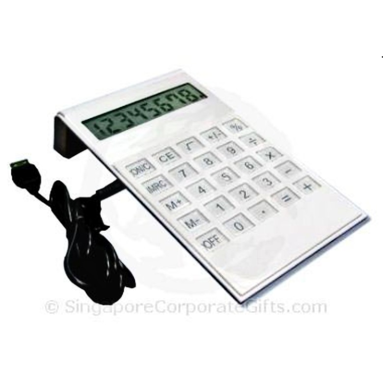 4 in 1 USB Hub 2.0 With Clock and Calculator 3