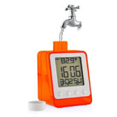 Water Powered Digital Clock