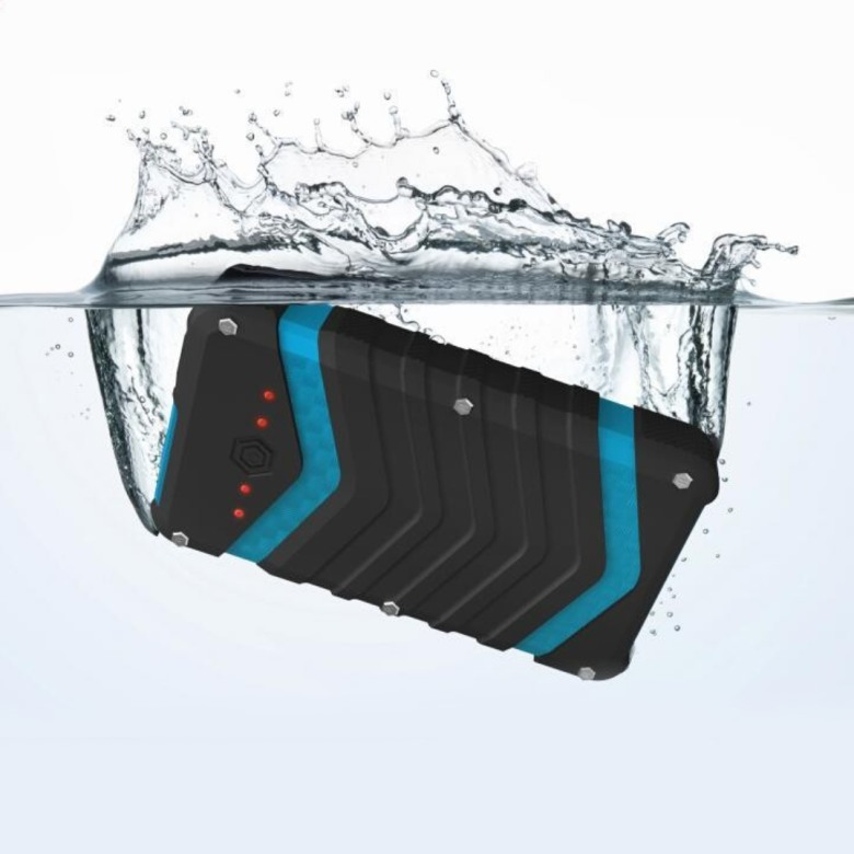 Waterproof Powerbank with LED [18000mAh]