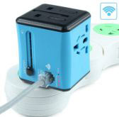 Wifi Universal Travel Adaptor with 2 USB SL190
