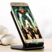 Wireless Phone Charger with Stand (10W, 2 Coil)