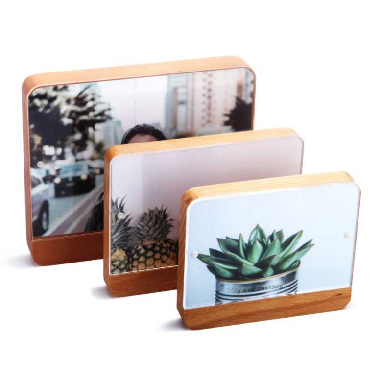 Wooden Photo frame with Acrylic