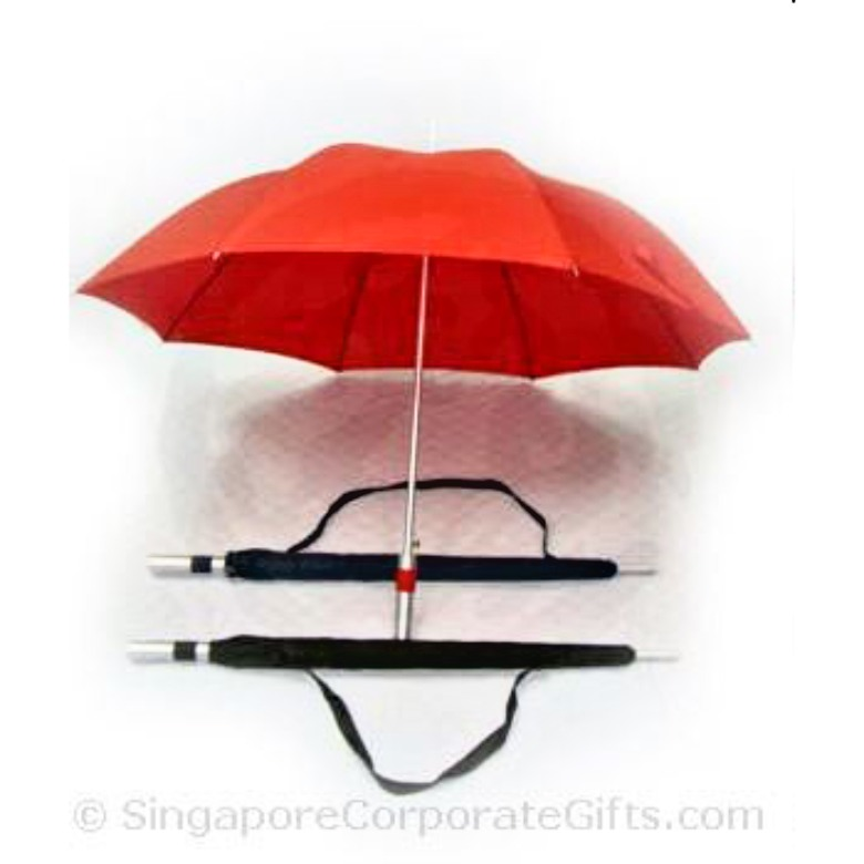"Golf Umbrella with sling pouch (27"")"