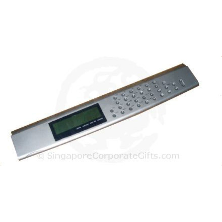 Ruler Calculator w/World Time Clock