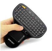Portable Air Mouse 2.4GHz Wireless Mini Touch Pad Keyboard
