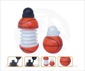 Basket Ball collapsible bottle