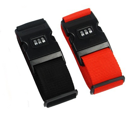 Luggage Strap with Lock