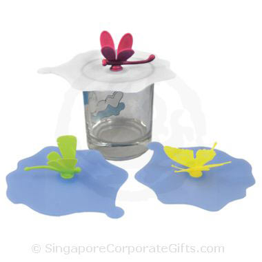 Silicon Cup Cover (Butterfly)