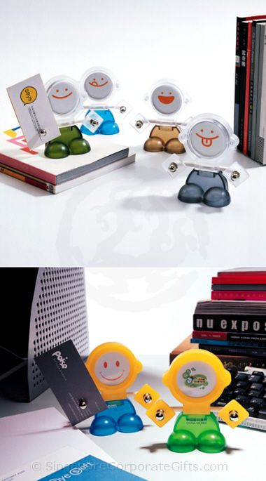Cute Magnetic Memo Holder