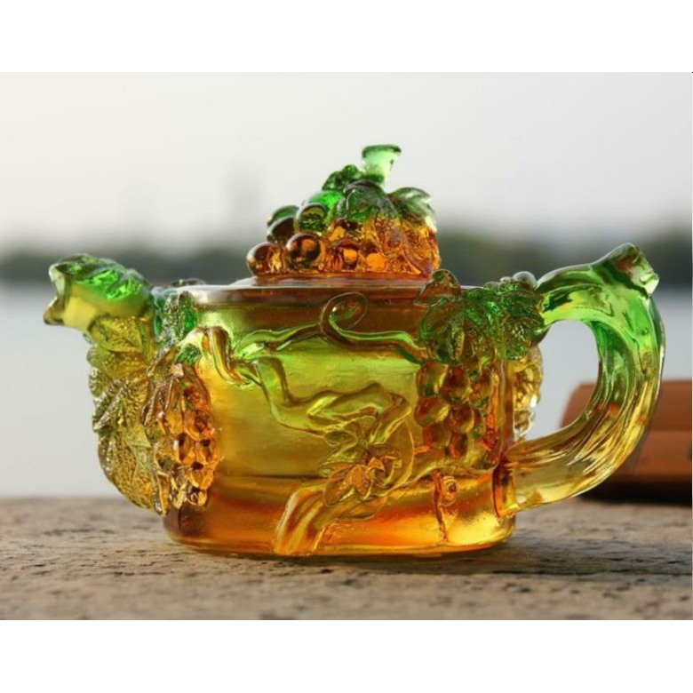 Liuli Teapot - Grapes