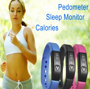 Bluetooth Bracelet with Sports & Sleep Tracker X5