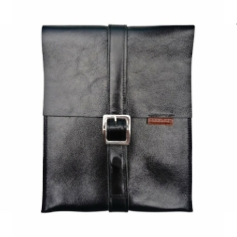 Designer Leather iPad Case -BUCKLE (Genuine Leather)