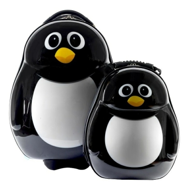Penguin Hard Backpack