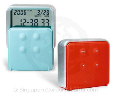 Digital Clock with Thermometer and Calendar-3