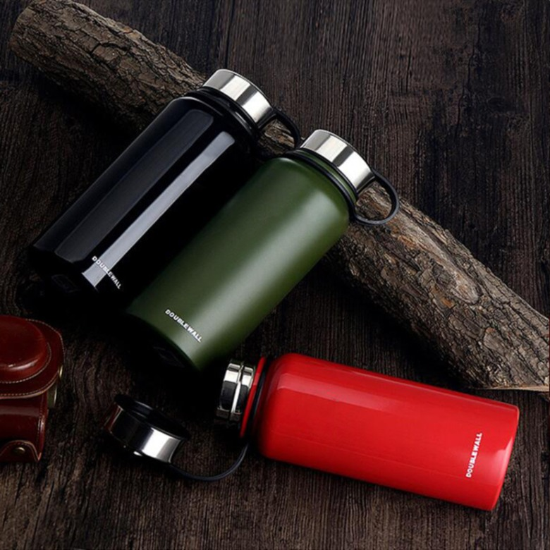 Insulated Double Wall Stainless Steel Water Bottle [800ml]