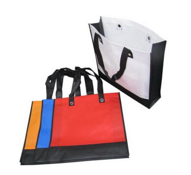 Dual Colour Non-Woven Bag (100 gsm)