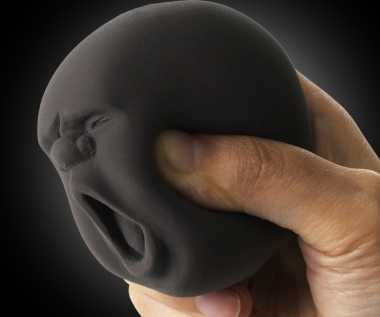 Silicone Face Stress Ball