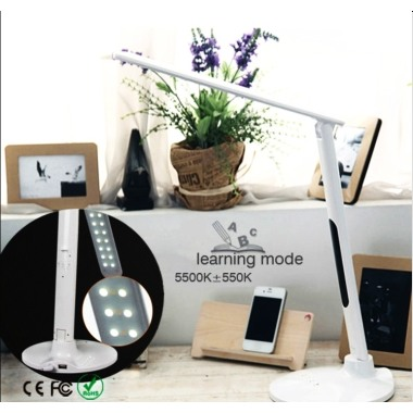 Touch sensor foldable design LED table lamp