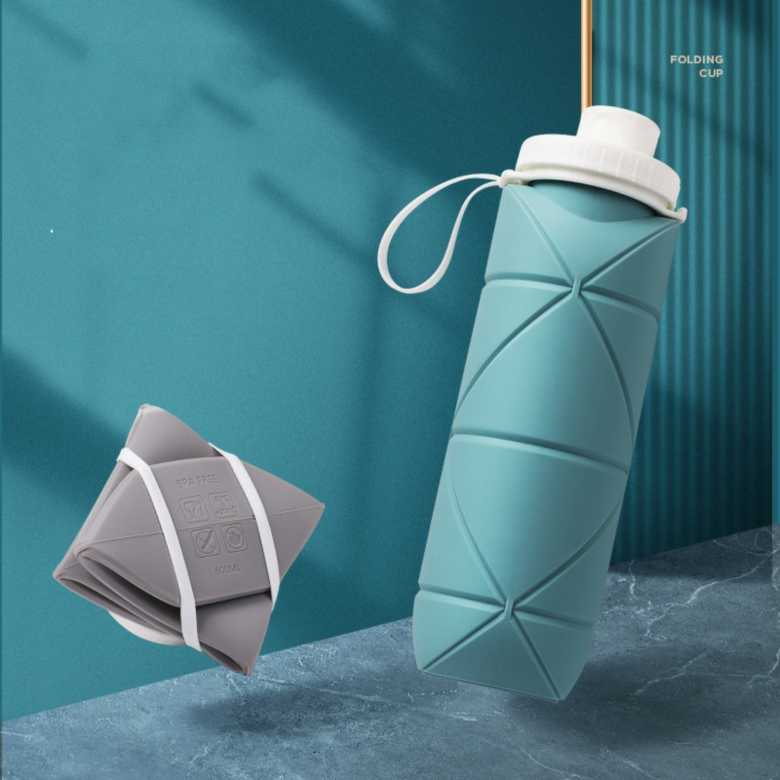 Thinnest Silicone Foldable Bottle [600ml]