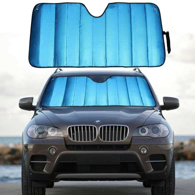 Foldable Sun Shade for Car Windscreen 2