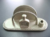 Customised Pewter Cardholder (Whisky Bottle)