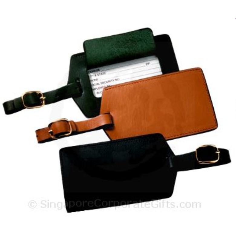 Genuine Leather Luggage Tag