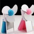 Foldabe USB Fan with Mirror