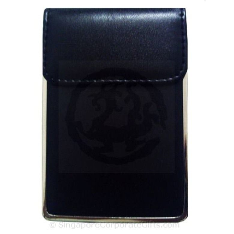Leather Name Card Holder (PU) - NCH-02
