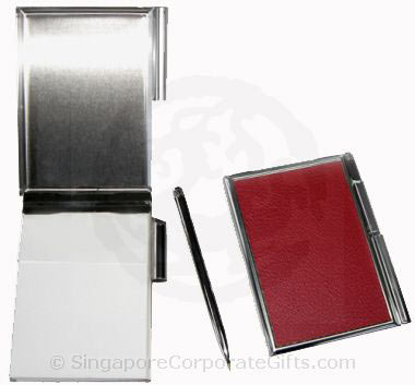 Exclusive namecard holder with pen