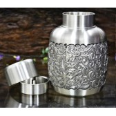 Pewter Bottle