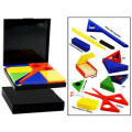 Tangram Stationery Set