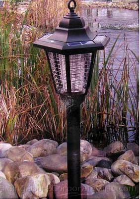 Solar Mosquito Killer with Lamp