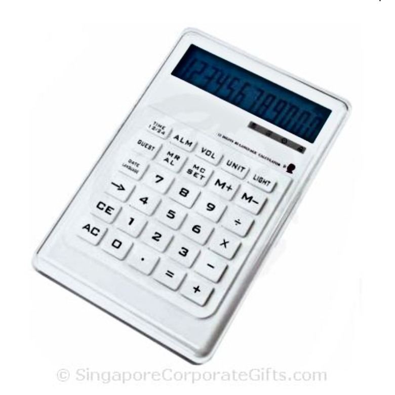 Calculator with Alarm Clock