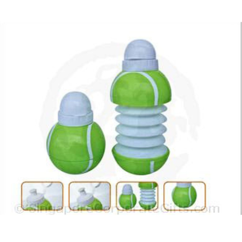 Tennis Ball collapsible bottle