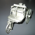 Customised Pewter Figurine (Trishaw)
