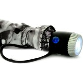 Umbrella with LED Torch Light (21 inch)