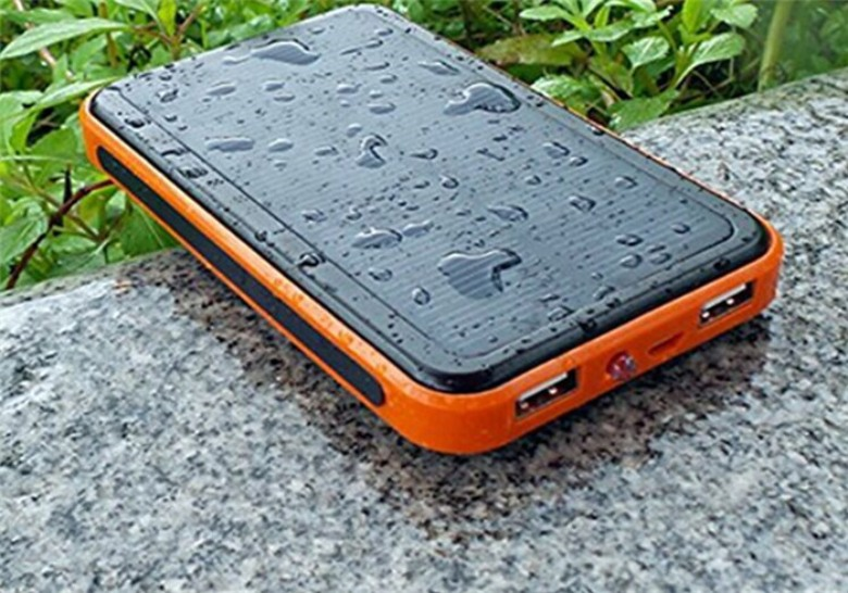 Waterproof Powerbank with LED [10000mAh]