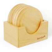 Wooden Coaster 4 (6 pieces)