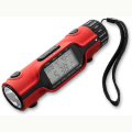 LED Torch with World Time and Alarm