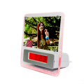 Photoframe with USB Hub and Clock